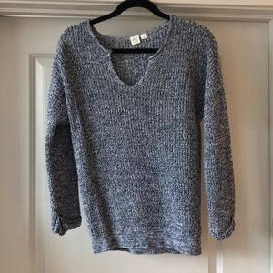 EUC GAP Clover Neckline Knit Marlee Sweater
